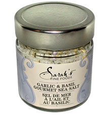 Garlic & Basil Sea Salt
