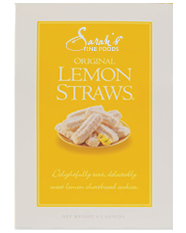 Lemon Cookie Straws