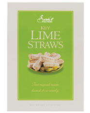 Lime Cookie Straws